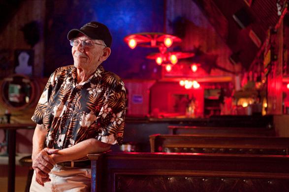 Wilbert Lewis at the 23 Club in Brisbane, CA.